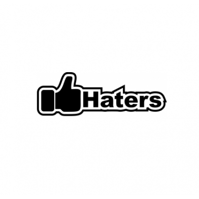 Sticker I Like Haters