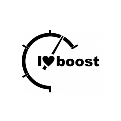 Sticker I Love Boost