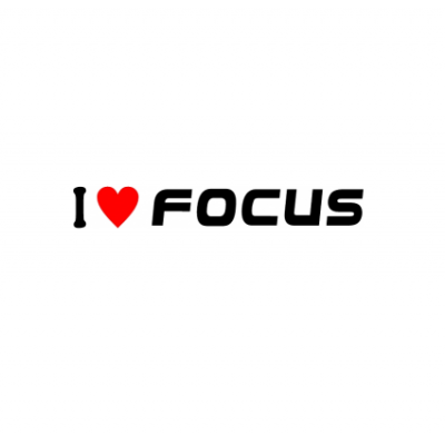 Sticker I Love Focus