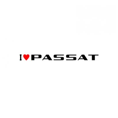 Sticker I Love Passat