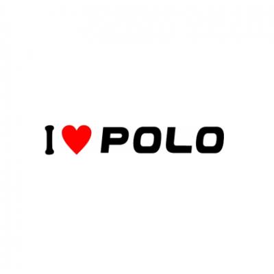 Sticker I Love Polo