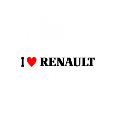 Sticker I Love Renault