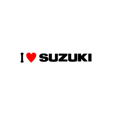 Sticker I Love Suzuki