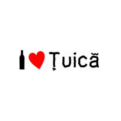 Sticker I Love Tuica