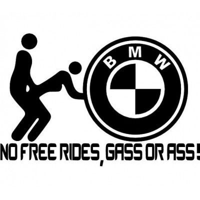 Sticker NFR BMW