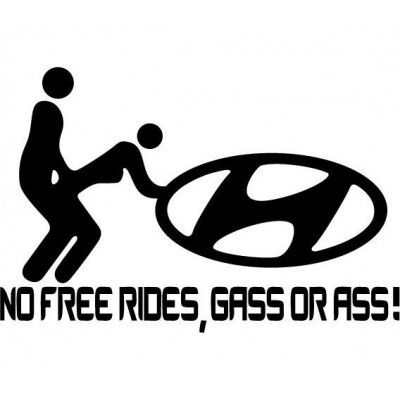 Sticker NFR Hyundai