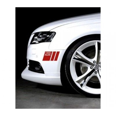Sticker ornament auto lateral Audi (v3)