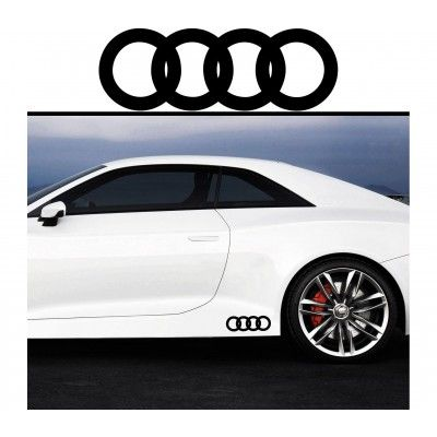 Sticker prag Audi (set 2 buc) - v4