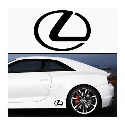 Sticker prag Lexus (set 2 buc) - v1