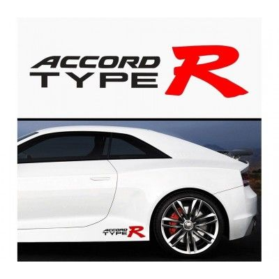 Sticker prag Accord Type R (set 2 buc)