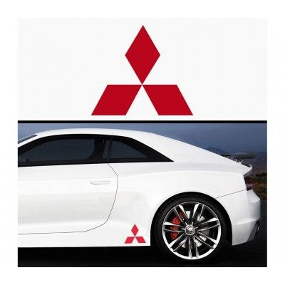Sticker prag Mitsubishi (set 2 buc)
