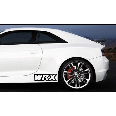 Sticker prag WRX (set 2 buc)
