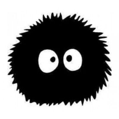 Stickere auto Soot Monster