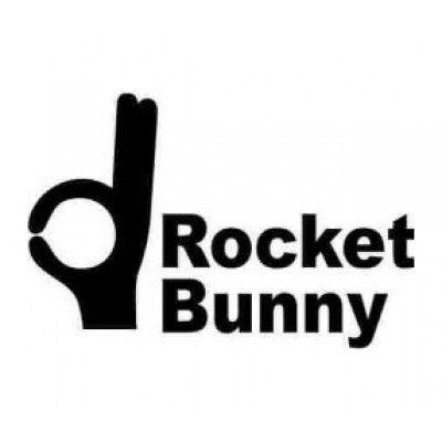 Stickere auto Rocket Bunny