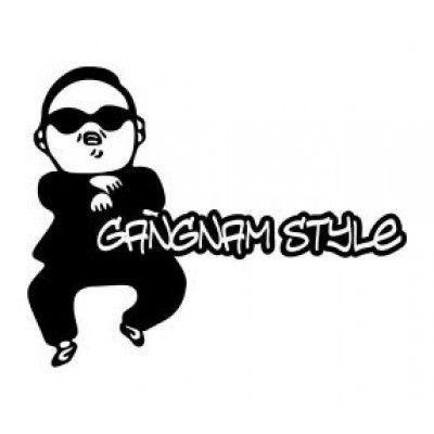 Stickere auto Gangnam Style