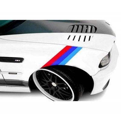 Sticker ornament auto model BMW ///M Power (v2)