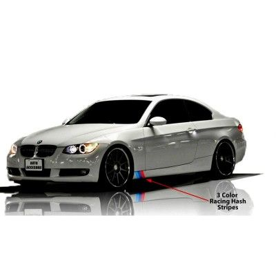 Sticker ornament auto model BMW ///M Power (v4)