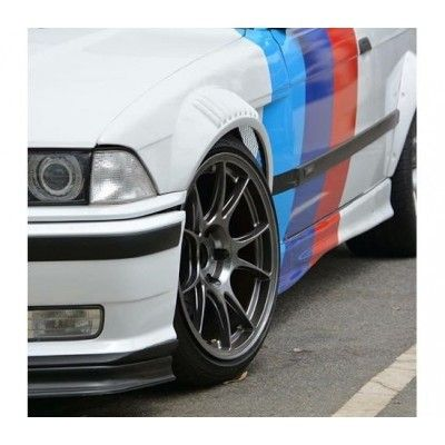 Sticker ornament auto model BMW ///M Power (v5)