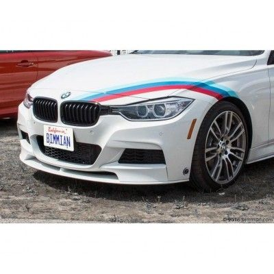Sticker ornament auto model BMW ///M Power (v6)