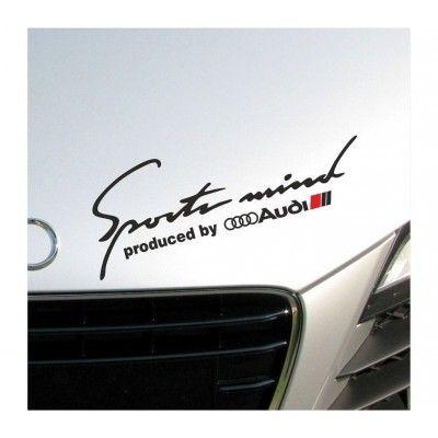 Sticker Sports Mind - Audi