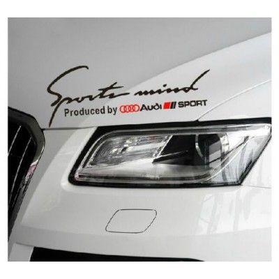 Sticker Sports Mind - Audi Sport