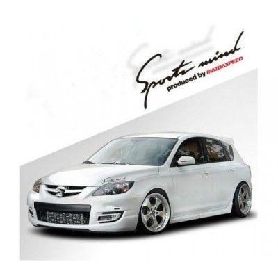 Sticker Sports Mind - Mazda Speed