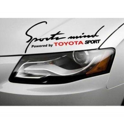 Sticker Sports Mind - Toyota