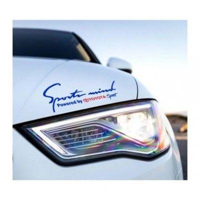 Sticker Sports Mind - Toyota Sport