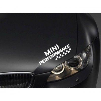 Sticker Performance - MINI
