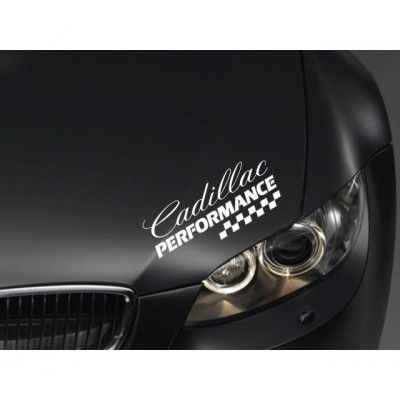Sticker Performance - Cadillac