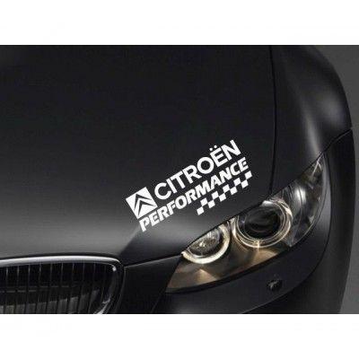Sticker Performance - Citroen