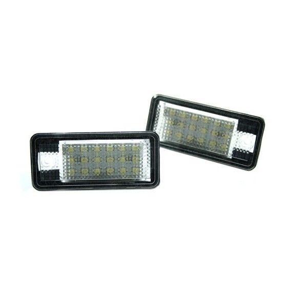 Lampi LED numar Audi  A3, A4, A6, A8, Q7