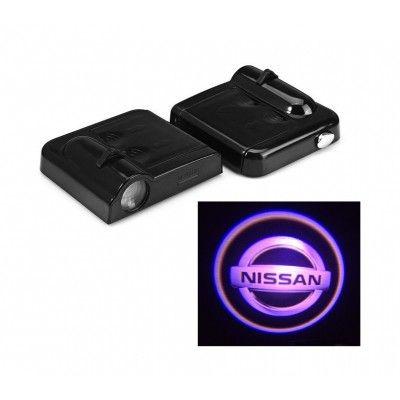 Set Proiectoare Led Logo Universale Nissan