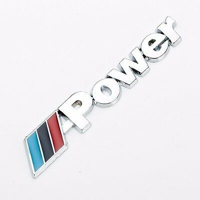 Emblema MPower Chrome