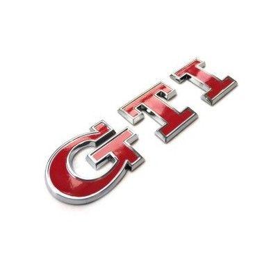 Emblema GTI - Red