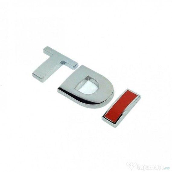 Emblema TDI (3D in relief)