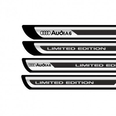 Set protectii praguri CROM - Audi A6