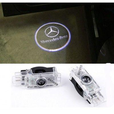 Set 2 Proiectoare Logo Dedicate Mercedes