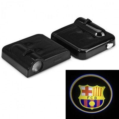 Set Proiectoare Led Logo Universale FC Barcelona