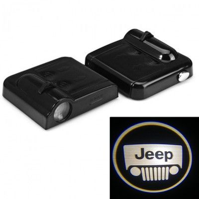 Set Proiectoare Led Logo Universale Jeep