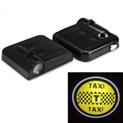 Set Proiectoare Led Logo Universale Taxi