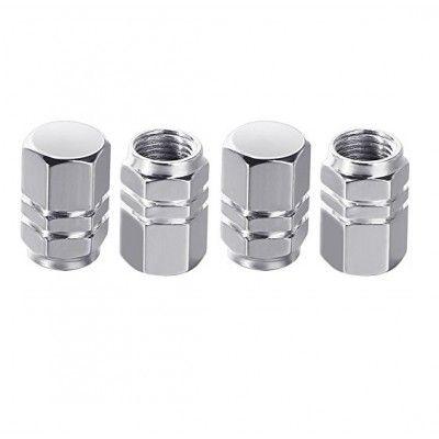 Set capace valva - ventil Argintiu