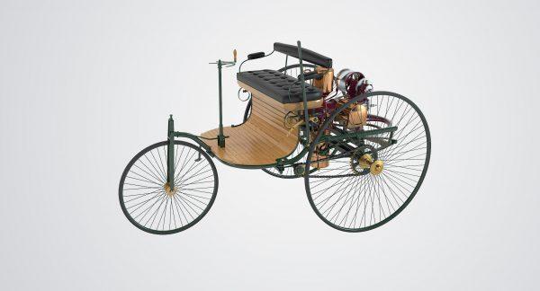 Primul Automobil – Tricicleta lui Karl Benz